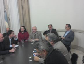 Reunión paritaria