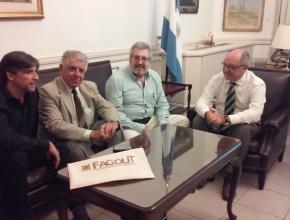 Reunión de FAGDUT con SPU - 1