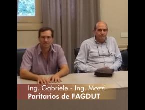 Ing. Gabrielle - Ing. Mozzi - Paritarios de FAGDUT