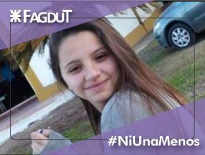 FAGDUT, gremio de los docente de la UTN, condena el nuevo femicidio ocurrido en la figura de la joven ÚRSULA BAHILLO, en Rojas..