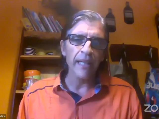 Ps. Ángel Eduardo Marostica, Presidente de la Seccional Rosario y organizador del programa
