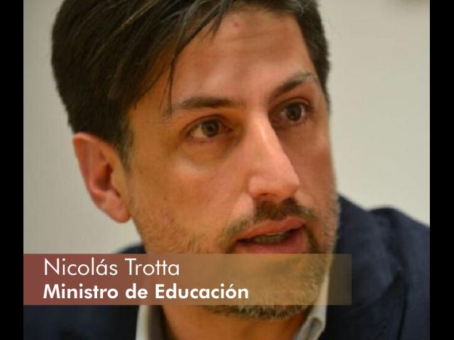 Nicolás Trotta - Ministro de Educación